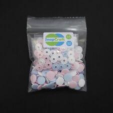 50 KAM SNAPS Size 16 - MATT FINISH - FREE P & P - Plastic Studs/Poppers/Buttons
