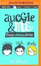 Auggie and Me : Three Wonder Stories by R. J. Palacio (2015, MP3 CD, Unabridged)