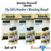 Jerome Russell BBlonde Powder Bleach 100g x 3 & Cream Peroxide 75ml 40Vol x 6