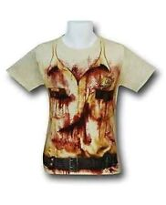 Authentic The Walking Dead Rick Police Uniform Costume Adult T Tee Shirt S