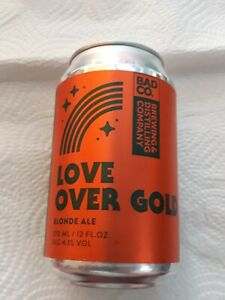 Bad Co. (dire straits) - 1 Can Beer  LOVE OVER GOLD