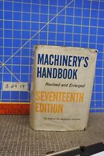 Machinery's HandBook 17th Edition