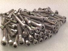 KTM SX125 EXC200  Engine Covers 46pcs Stainless Allen Bolts Capscrews Kit