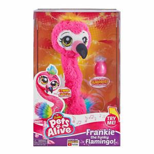 ZURU Pets Alive Frankie the Funky Flamingo Toy Christmas Gift For Kid's 2020 LF