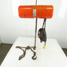 Cm Lodestar Model L Electric Chain Hoist 1 Ton 16fpm 10 Lift 115v Single Phase