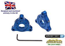 Oberon Yamaha FZ1 Fazer 14mm A/F Blue Fork Preload Adjusters #07