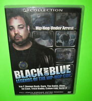 Black And Blue Hip-Hop Cop DVD Screener Promo Ice-T 50 Cent Jacki-O Trick Daddy