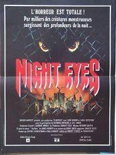 AFFICHE - NIGHT EYES ROBERT CLOUSE