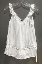 NWT Neiman Marcus Cosabella White V-Neck Trinny Long Camisole Top sz M FS