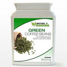 60 estratto di chicco di Caffè Verde Pillole Capsule BOTTIGLIA DIETA DIMAGRANTE mese Supply