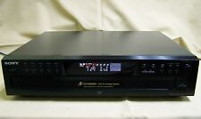 Sony CDP-CE275 CD Player 5 Compact Disc CD-R Changer w/Optical Digital Out NICE