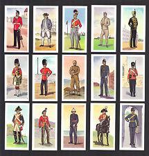 CIGARETTE/TRADE/CARDS. Ewbanks Ltd.BRITISH UNIFORMS.(Complete Set of 25).(1957)