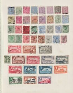 Gibraltar collection QV/KGVI inc better (R3)