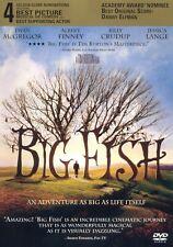 Big Fish Dvd (Widescreen) by Tim Burton w/ Ewan McGregor, Helena Bonham Carter