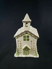 Partylite Village Square Chapel Church Christmas Holiday Fragrance Warmer