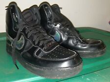 Nike Air Force 1 High 07 LV8 Mens 806403-002 Black Iridescent Shoes Size 11