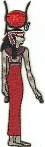 Égyptien Mythologie Déesse De Le Ciel Hathor Brodé à Repasser à Coudre Patch