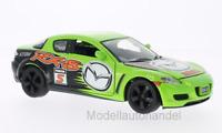Mazda RX-8 hellgrün/Dekor  RHD RX8 - 1:24 MotorMax   *NEW*