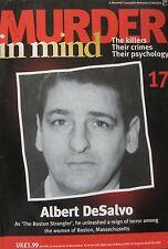 Murder in Mind Issue 17 -  Albert DeSalvo The Boston Strangler