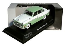 Sachsenring P240 Bj 1958 Fertigmodell 1:43 WhiteBox / IXO WB072 195268 NEU & OVP