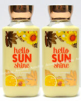 Lot of 2 - HELLO SUNSHINE - Body Lotion - 8oz - Bath & Body Works