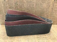 Klingspor 4x36 Beltsander Sanding Belts P24 P60 P80 P100 P220 P320 Lot Of 9