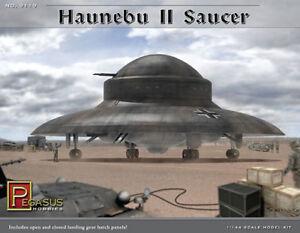 PEGASUS Haunebu II German WWII UFO Fu Fighter 1/144 Scale Model Kit 181PH06