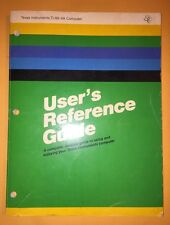 TI Texas Instruments TI-99/ 4A User's Reference Guide  - 1981 1039031-4