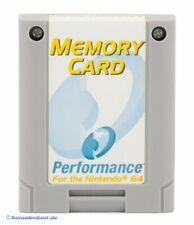N64-tarjeta/tarjeta de memoria/Controller Pak 256 KB [performance]
