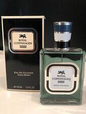 Royal Copenhagen Musk Men 3.3 / 3.4 oz Cologne edc Spray New in Box