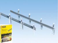 NOCH 60511 Leitplanken 100cm und 60 Begrenzungspfosten H0 Neu
