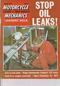 Gus Kuhn Commando, BSA Gold Star Engine,Yamaha Padgett 125 YAS-1 Racer,BMW R60/5