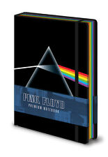 PINK FLOYD DARK SIDE OF THE MOON PREMIUM A5 BOUND NOTEBOOK 100% OFFICIAL