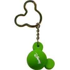 Disney Mickey Mouse Green Ears Foam Keychain Keyring Key Chain Ring