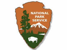 """3"""" National Park Service Helmet Laptop Car Bumber Decal Sticker Made In Usa"""