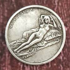 Commemorative Coin  Da Vinci Maja Desnuda Silver Coin Leonardo Collection New
