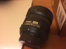Nikon NIKKOR 35mm f/1.8 G DX AF-S Lens MINT