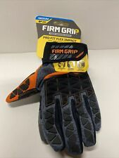 Firm Grip Pro Fit Tough Multi Purpose Working Gloves Black Size Medium