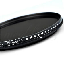 ZOMEI 55mm Variable Fader ND Filter ND2 ND4 ND8 ND400 For Nikon Canon Hoya Lens