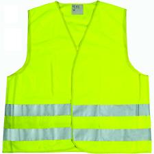 2 gilets sécurité,réfléchissant,haute visiblité jaune fluo taille unique normeCE