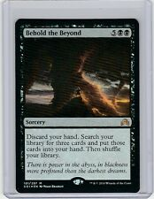 Foil Behold the Beyond - Shadows Over Innistrad. MTG SOI Pack Fresh!