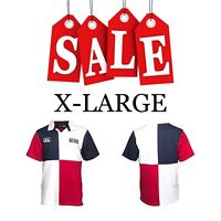 England Rugby Polo T Shirt Jersey 2015 World Cup Men Harlequin Small S RWC Union