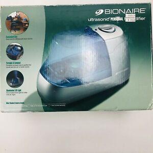 Bionaire Ultrasonic Portable LED Night Light Personal Humidifier New open Box