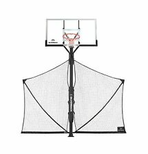 Silverback Basketball Yard Guard Defensive Net System Rebounder with Foldable.