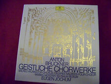 Geistliche Chorwerke - Anton Bruckner    Eugen Jochum  5 LP Box