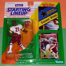 1992 EARNEST BYNER Washington Redskins Rookie - low s/h - sole Starting Lineup