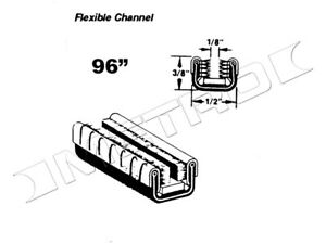 Flexible Glass Run Channel, Fits:1934-1978 Mercedes-Benz 500K and many more