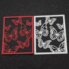 Stanzschablone Schmetterling Cut Die Butterfly Papier Karte Basteln Scrapbook