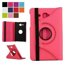 Rotating 360 Degree Folio Book Case Stand Cover PU Leather For Samung Galaxy Tab