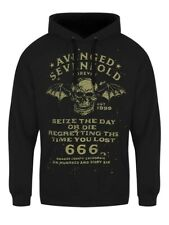 Avenged Sevenfold Hoodie Seize The Day A7X Men's Black
